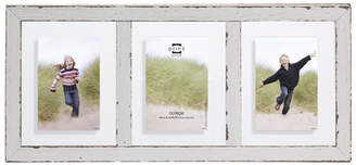 Prinz 3 Opening Bristol Distressed Wood Float Picture Frame