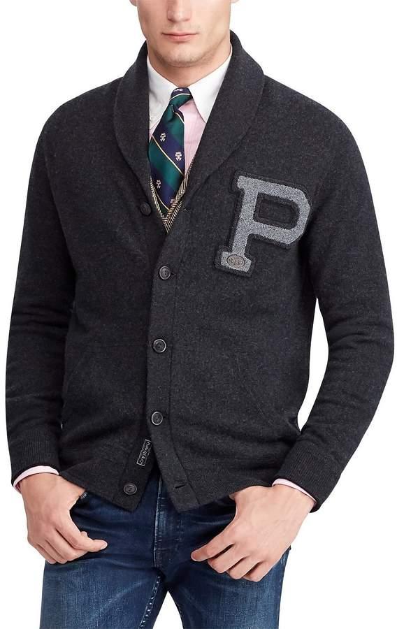 Polo Ralph Lauren Big & Tall Merino Wool Shawl Cardigan Sweater
