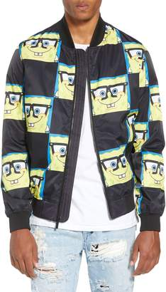 Members Only Spongebob Bomber Jacket