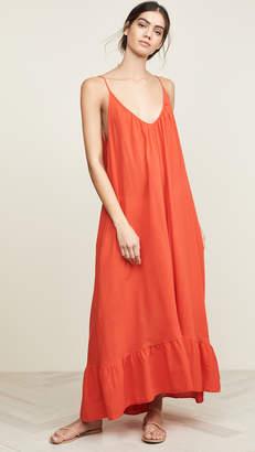5f86e28002 9seed Paloma Ruffle Maxi Dress