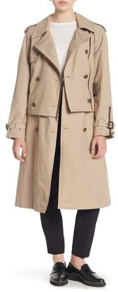 London Fog Missy Double Breasted Trench Coat