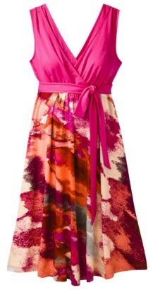 Liz Lange for Target® Maternity V-Neck Knit Dress - Vivid Pink