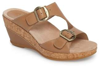 Dansko Carla Wedge Slide Sandal (Women)