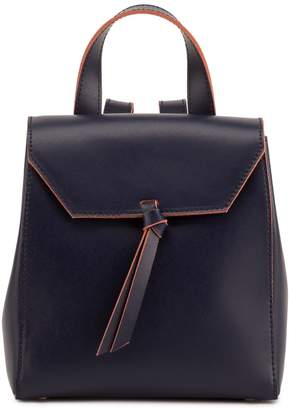 Alexandra de Curtis Hepburn Mini Backpack Navy Blue