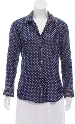 Etoile Isabel Marant Patterned Button-Up Tunic