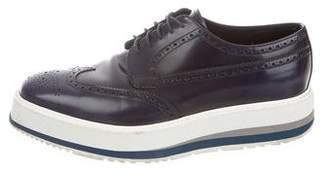 1fc29876004 Prada Wingtip Derby Shoes