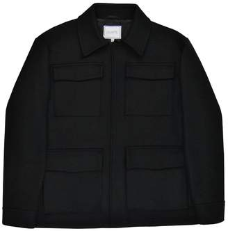 Duarte Black Wool Short Jacket
