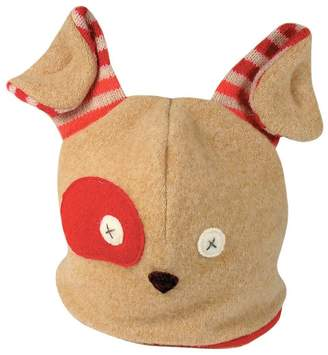Levi's Cate and Handmade Dog Winter Hat Premium Reclaimed Wool and Eco-Friendly Fleece