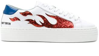 Chiara Ferragni Suite Flames sneakers
