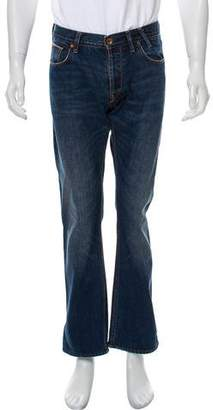 Paul Smith Red Ear Flat Front Straight-Leg Jeans