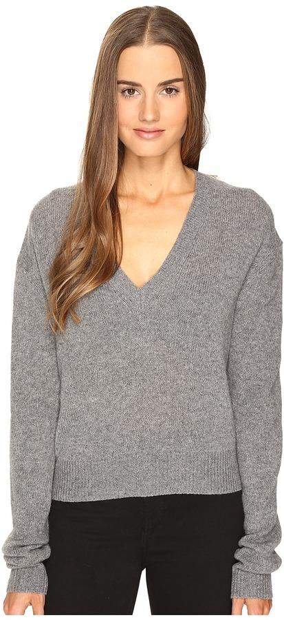 McQ - Lamv Basic V-Neck Women's Clothing