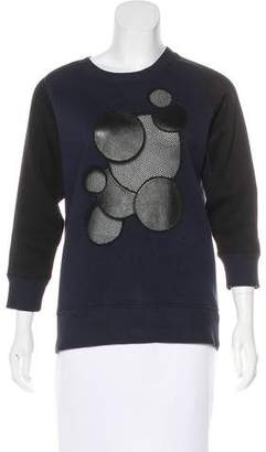 Christopher Kane Embellished Crew Neck Sweatshirt