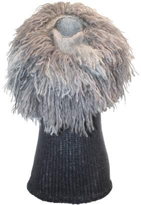 Claire Andrew - Fringed Mane Knit Vest