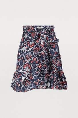 Etoile Isabel Marant Tempster linen skirt