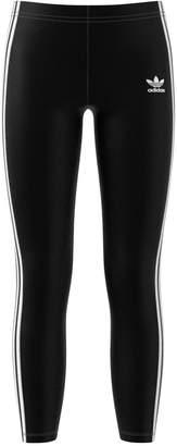 adidas Big Girls Three-Stripe Leggings