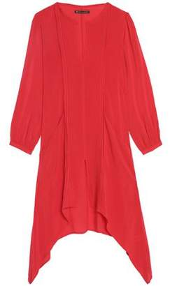 Vix Paula Hermanny Flora Pintucked Voile Coverup