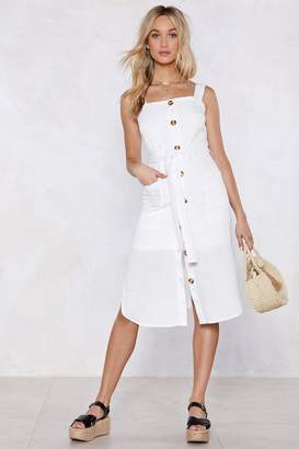 Nasty Gal A Place in the Sun Midi Dress