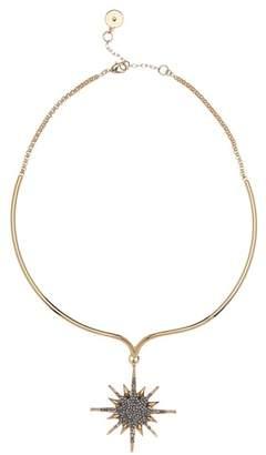 Vince Camuto Black Crystal Star Collar Necklace