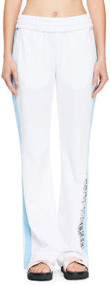 Off-White Off White Wide-Leg Racer Track Pants
