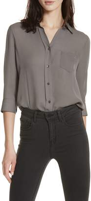 L'Agence Silk Blouse
