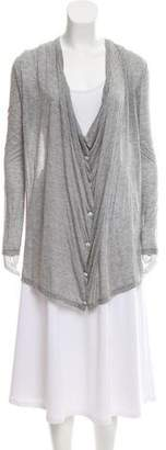 Enza Costa Long Sleeve Button-Up Top