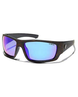 0f137a98d7 Liive Vision Men s X Mad Hueys Anchor Polarised Sunglasses Rubber Glass  Black