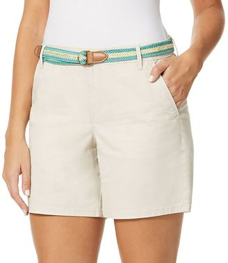 Women's Yvonne Twill Shorts $44 thestylecure.com