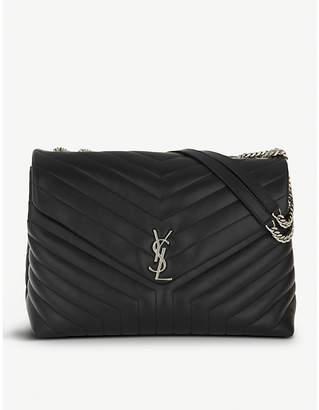 Saint Laurent Monogram extra-large quilted leather shoulder bag