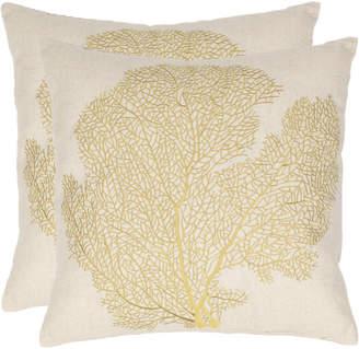 Safavieh Spice-Fan Coral Pillow