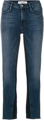 Frame Elaine cropped jeans