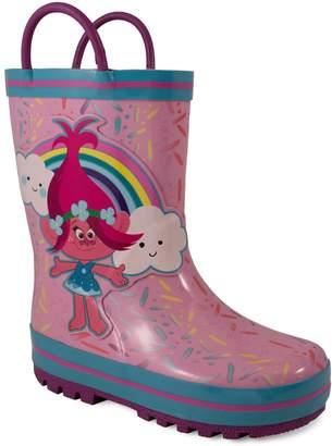 DreamWorks Trolls Poppy Toddler Girls' Rain Boots