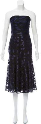 Camilla And Marc Strapless Midi Dress