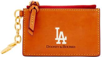 Dooney & Bourke MLB Dodgers Zip Top Card Case