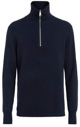 Burberry Rib Knit Cashmere Half
