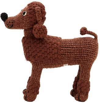 Anne Claire Petit Hand-crocheted Organic Cotton Poodle