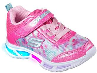Skechers Girls' Litebeams-Dance N'Glow Sneaker
