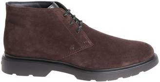 Hogan Ankle High Derby Shoes