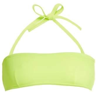 Solid & Striped The Kate Bandeau Bikini Top - Womens - Yellow