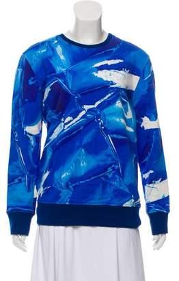 Helmut Lang Printed Crew Neck Sweatshirt