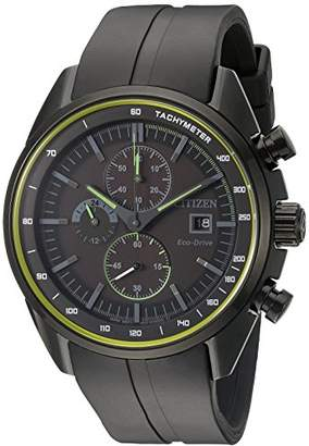 Citizen Drive From Eco-Drive Men's Quartz Stainless Steel and Polyurethane Casual Watch