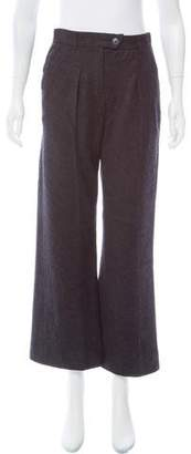 Nina Ricci High-Rise Wool Pants