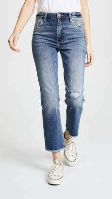 Wrangler High Rise Tunnel Crop Jeans