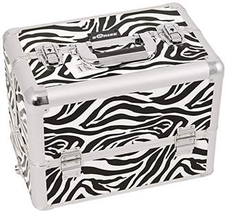 Craft Accents 6-Tiers Extendable Tray Professional Aluminum Cosmetic Makeup Case