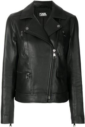 Karl Lagerfeld Paris Ikonik Odina biker jacket