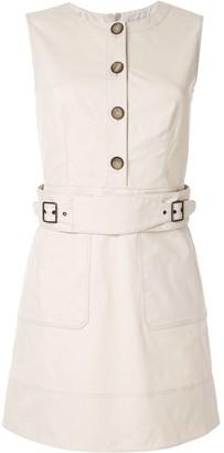 Paule Ka sleeveless belted dress