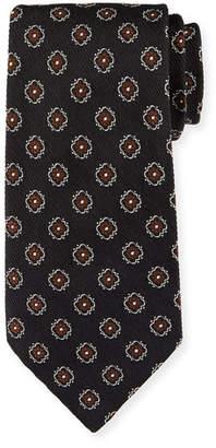 Ermenegildo Zegna Fancy Box Silk Tie
