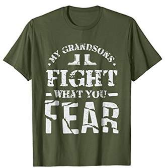 My Grandsons Serve In The Military Shirt
