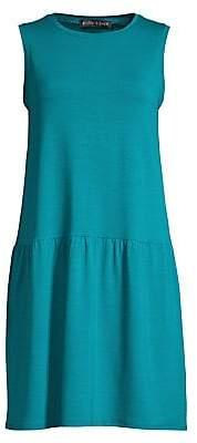 Eileen Fisher Women's Tencel Jersey Stretch Drop Waist Dress
