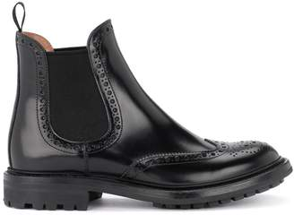 Church's Aura Black Leather Ankle Boots