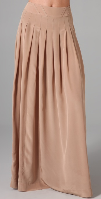 Lover Silk Long Skirt
